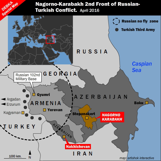 By NagornoKarabakh Clash Russia Dangled Second Front over Turkey