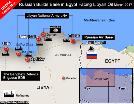 Another Russian Air Base is Going up at Sidi Barrani, Egypt