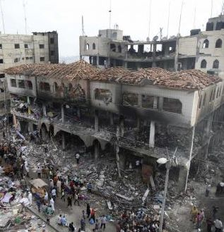 Though militarily inferior, Hamas has hit Israel