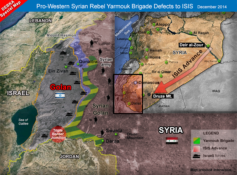 Syrian rebel Yarmouk Brigades ditch US and Israel allies