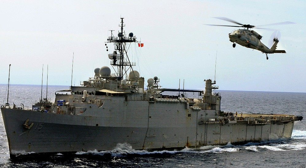US military strength beefed up at Hormuz as nuclear talks