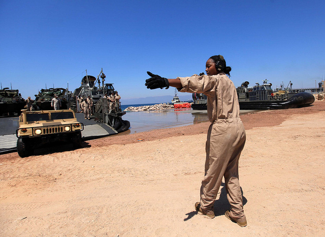 Large US Marine force lands in Aqaba to deploy on Jordanian-Syrian